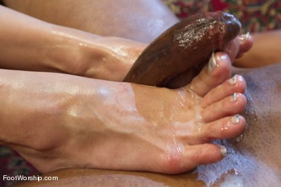 Photo number 10 from Exotic Foot Worship With Goddess Lea shot for Foot Worship on Kink.com. Featuring Robert Axel and Lea Lexis in hardcore BDSM & Fetish porn.