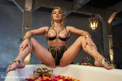 Photo number 2 from Exotic Foot Worship With Goddess Lea shot for Foot Worship on Kink.com. Featuring Robert Axel and Lea Lexis in hardcore BDSM & Fetish porn.