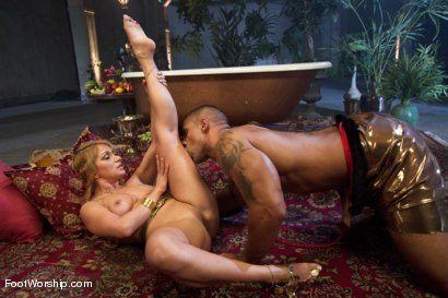 Photo number 6 from Exotic Foot Worship With Goddess Lea shot for Foot Worship on Kink.com. Featuring Robert Axel and Lea Lexis in hardcore BDSM & Fetish porn.