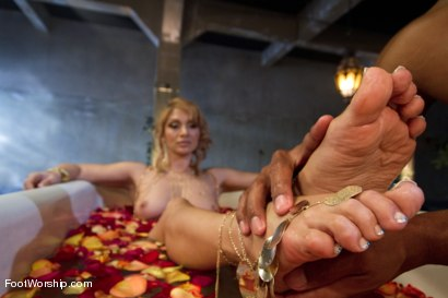 Photo number 11 from Exotic Foot Worship With Goddess Lea shot for Foot Worship on Kink.com. Featuring Robert Axel and Lea Lexis in hardcore BDSM & Fetish porn.