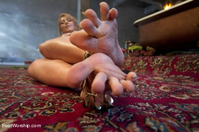 Photo number 1 from Exotic Foot Worship With Goddess Lea shot for Foot Worship on Kink.com. Featuring Robert Axel and Lea Lexis in hardcore BDSM & Fetish porn.