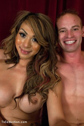 Photo number 15 from Transsexual Shooting Cum Load: NewComer Chriselle Shows off her Cock shot for TS Seduction on Kink.com. Featuring Patrick Rouge and Chriselle in hardcore BDSM & Fetish porn.