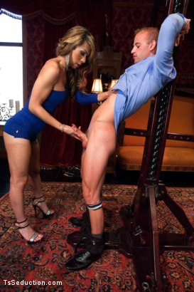 Photo number 3 from Transsexual Shooting Cum Load: NewComer Chriselle Shows off her Cock shot for TS Seduction on Kink.com. Featuring Patrick Rouge and Chriselle in hardcore BDSM & Fetish porn.