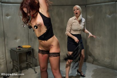 Photo number 2 from The Doctor Is In shot for Whipped Ass on Kink.com. Featuring Maitresse Madeline Marlowe, Josi Valentine and Lorelei Lee in hardcore BDSM & Fetish porn.