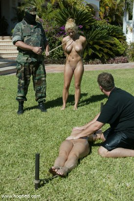 Photo number 11 from Cabo, the Return. Part 3 shot for Hogtied on Kink.com. Featuring Jenni Lee, Dee Williams, Princess Donna Dolore, Jenya and Sgt. Major in hardcore BDSM & Fetish porn.