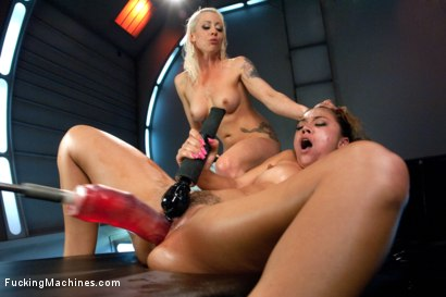 Photo number 9 from Top of the Fuck Chain TWO: Machine ANGELS Fucking  shot for Fucking Machines on Kink.com. Featuring Kristina Rose and Lorelei Lee in hardcore BDSM & Fetish porn.