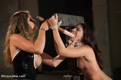 Photo number 9 from Damsel in Distress, Sheena Ryder, Submits to Felony's Heavy Hand shot for Whipped Ass on Kink.com. Featuring Felony and Sheena Ryder in hardcore BDSM & Fetish porn.