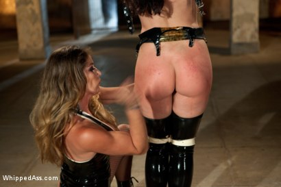 Photo number 3 from Damsel in Distress, Sheena Ryder, Submits to Felony's Heavy Hand shot for Whipped Ass on Kink.com. Featuring Felony and Sheena Ryder in hardcore BDSM & Fetish porn.