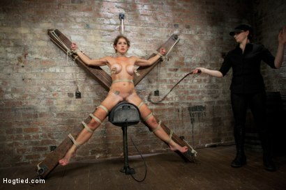 Photo number 13 from Felony - Amazing MILF Squirter shot for Hogtied on Kink.com. Featuring Felony in hardcore BDSM & Fetish porn.