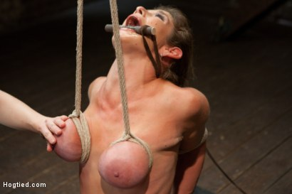 Photo number 3 from Felony - Amazing MILF Squirter shot for Hogtied on Kink.com. Featuring Felony in hardcore BDSM & Fetish porn.