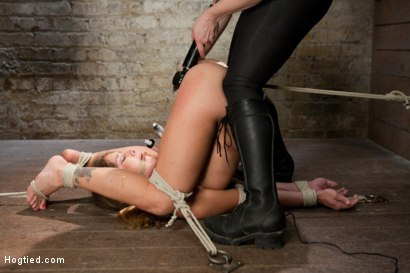 Photo number 7 from Felony - Amazing MILF Squirter shot for Hogtied on Kink.com. Featuring Felony in hardcore BDSM & Fetish porn.