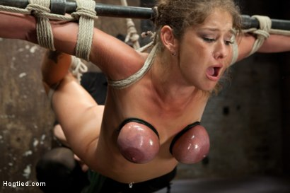 Photo number 12 from Felony - Amazing MILF Squirter shot for Hogtied on Kink.com. Featuring Felony in hardcore BDSM & Fetish porn.