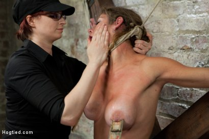 Photo number 14 from Felony - Amazing MILF Squirter shot for Hogtied on Kink.com. Featuring Felony in hardcore BDSM & Fetish porn.