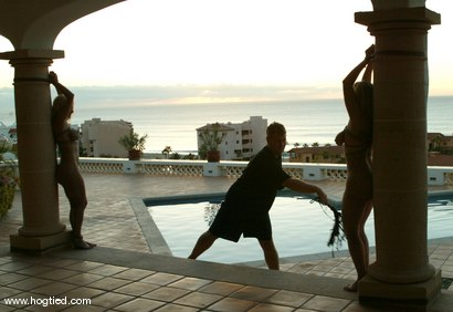 Photo number 1 from CABO, the Return. Part 10 - the Finale. shot for Hogtied on Kink.com. Featuring Jenni Lee, Dee Williams, Princess Donna Dolore, Jenya and Sgt. Major in hardcore BDSM & Fetish porn.