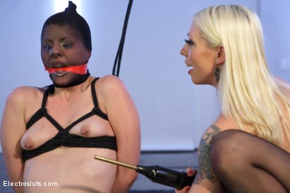 Photo number 12 from Electrosluts LIVE with Katherine Cane! shot for Electro Sluts on Kink.com. Featuring Lorelei Lee and Katharine Cane in hardcore BDSM & Fetish porn.