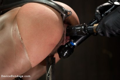 Photo number 14 from Wild hairy whore gets tamed. Bianca Stone: exotic, flexible treat! shot for Device Bondage on Kink.com. Featuring Bianca Stone and Sebastian Keys in hardcore BDSM & Fetish porn.