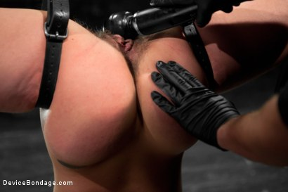 Photo number 17 from Wild hairy whore gets tamed. Bianca Stone: exotic, flexible treat! shot for Device Bondage on Kink.com. Featuring Bianca Stone and Sebastian Keys in hardcore BDSM & Fetish porn.