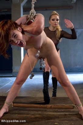 Photo number 3 from Built For Punishment shot for Whipped Ass on Kink.com. Featuring Aiden Starr and Jodi Taylor in hardcore BDSM & Fetish porn.