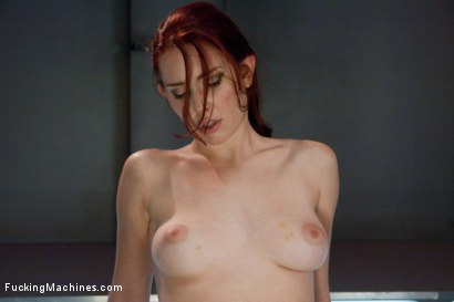 Photo number 15 from Long Legs, Firey Red Hair, Milky Skin and Machines fucking Her Pussy shot for Fucking Machines on Kink.com. Featuring Melody Jordan in hardcore BDSM & Fetish porn.