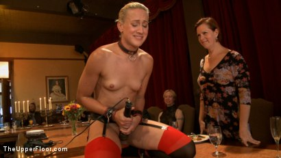 Photo number 12 from Stefanos' Brunch shot for The Upper Floor on Kink.com. Featuring Dylan Ryan and Beretta James in hardcore BDSM & Fetish porn.