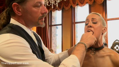 Photo number 2 from Stefanos' Brunch shot for The Upper Floor on Kink.com. Featuring Dylan Ryan and Beretta James in hardcore BDSM & Fetish porn.