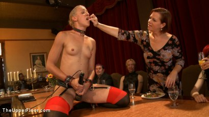 Photo number 4 from Stefanos' Brunch shot for The Upper Floor on Kink.com. Featuring Dylan Ryan and Beretta James in hardcore BDSM & Fetish porn.