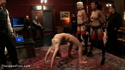 Photo number 11 from Slave Initiation: buttons shot for The Upper Floor on Kink.com. Featuring Dylan Ryan, Derrick Pierce, Chastity Lynn and Beretta James in hardcore BDSM & Fetish porn.