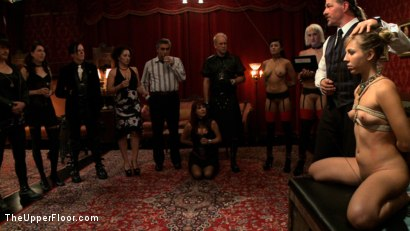Photo number 15 from Slave Initiation: buttons shot for The Upper Floor on Kink.com. Featuring Dylan Ryan, Derrick Pierce, Chastity Lynn and Beretta James in hardcore BDSM & Fetish porn.
