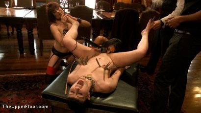 Photo number 7 from Slave Petition: Katharine Cane shot for The Upper Floor on Kink.com. Featuring Lyla Storm, Katharine Cane, Odile, Mickey Mod and Maestro Stefanos in hardcore BDSM & Fetish porn.