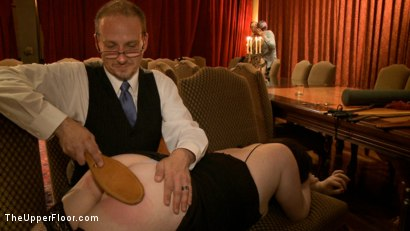 Photo number 11 from Community Dinner: Correcting O and Debauching Siouxie shot for The Upper Floor on Kink.com. Featuring Dylan Ryan and Odile in hardcore BDSM & Fetish porn.