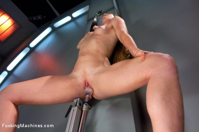 Photo number 15 from Sending the Ginger Girl into Cum Space with The Fucking Machines shot for Fucking Machines on Kink.com. Featuring Ami Emerson in hardcore BDSM & Fetish porn.