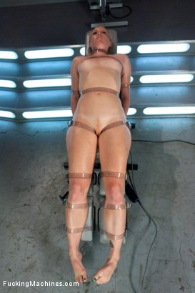 Photo number 1 from Bondage and Orgasms: Athletic Ginger Babe Machine Fucked in Rope shot for Fucking Machines on Kink.com. Featuring Ami Emerson in hardcore BDSM & Fetish porn.