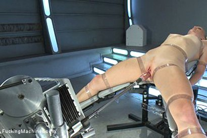 Photo number 14 from Bondage and Orgasms: Athletic Ginger Babe Machine Fucked in Rope shot for Fucking Machines on Kink.com. Featuring Ami Emerson in hardcore BDSM & Fetish porn.