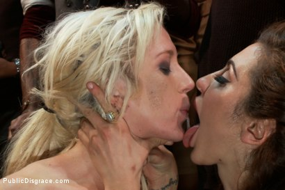 Photo number 19 from Princess Donna Throws a B-Day Party Full of Sex, Bondage & Humiliation shot for Public Disgrace on Kink.com. Featuring Mark Davis, Maia Davis and Princess Donna Dolore in hardcore BDSM & Fetish porn.