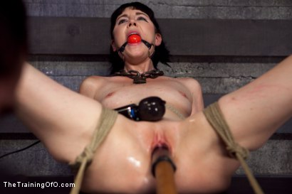 "Photo number 7 from Training Coral Aorta - Day 2 ""Humility""  shot for The Training Of O on Kink.com. Featuring Coral Aorta in hardcore BDSM & Fetish porn."