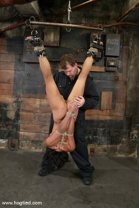 Photo number 5 from Sophia and Princess Donna Dolore shot for Hogtied on Kink.com. Featuring Sophia and Princess Donna Dolore in hardcore BDSM & Fetish porn.