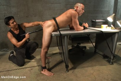 Photo number 12 from Edging A Straight Cop shot for Men On Edge on Kink.com. Featuring Chris Tyler in hardcore BDSM & Fetish porn.