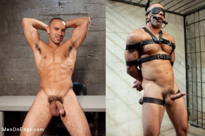 Photo number 15 from Edging A Straight Cop shot for Men On Edge on Kink.com. Featuring Chris Tyler in hardcore BDSM & Fetish porn.