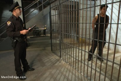 Photo number 1 from Edging A Straight Cop shot for Men On Edge on Kink.com. Featuring Chris Tyler in hardcore BDSM & Fetish porn.