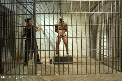 Photo number 7 from Edging A Straight Cop shot for Men On Edge on Kink.com. Featuring Chris Tyler in hardcore BDSM & Fetish porn.