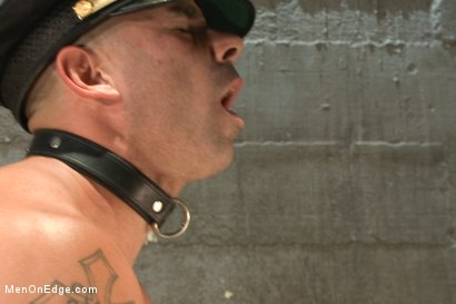 Photo number 13 from Edging A Straight Cop shot for Men On Edge on Kink.com. Featuring Chris Tyler in hardcore BDSM & Fetish porn.