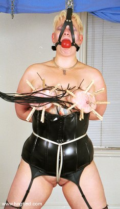 Photo number 7 from Vicky shot for Hogtied on Kink.com. Featuring Vicky in hardcore BDSM & Fetish porn.
