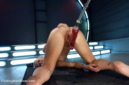 Photo number 8 from Squirt Alert: So MUCH Girl Cum  shot for Fucking Machines on Kink.com. Featuring Dylan Ryan in hardcore BDSM & Fetish porn.