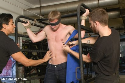 Photo number 2 from Hot German Meat shot for Men On Edge on Kink.com. Featuring Marco Schwarz in hardcore BDSM & Fetish porn.