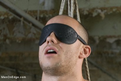 Photo number 3 from Straight German stud gets edged while his girlfriend watches shot for Men On Edge on Kink.com. Featuring Kris Hooliwood in hardcore BDSM & Fetish porn.