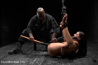Photo number 14 from Lyla Storm vs Jack Hammer shot for Device Bondage on Kink.com. Featuring Lyla Storm and Jack Hammer in hardcore BDSM & Fetish porn.