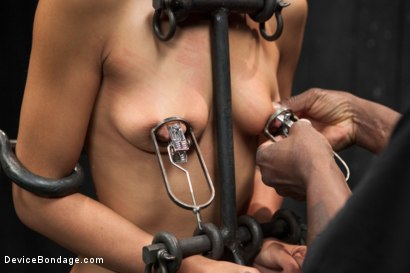 Photo number 6 from Lyla Storm vs Jack Hammer shot for Device Bondage on Kink.com. Featuring Lyla Storm and Jack Hammer in hardcore BDSM & Fetish porn.