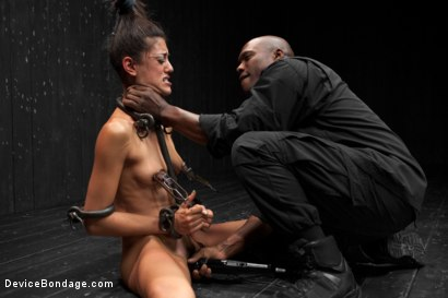Photo number 10 from Lyla Storm vs Jack Hammer shot for Device Bondage on Kink.com. Featuring Lyla Storm and Jack Hammer in hardcore BDSM & Fetish porn.