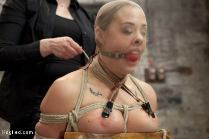 Photo number 3 from Chanel Preston shot for Hogtied on Kink.com. Featuring Chanel Preston in hardcore BDSM & Fetish porn.
