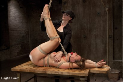 Photo number 14 from Chanel Preston shot for Hogtied on Kink.com. Featuring Chanel Preston in hardcore BDSM & Fetish porn.
